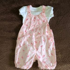 Just One You (by Carter's) overalls outfit-9M